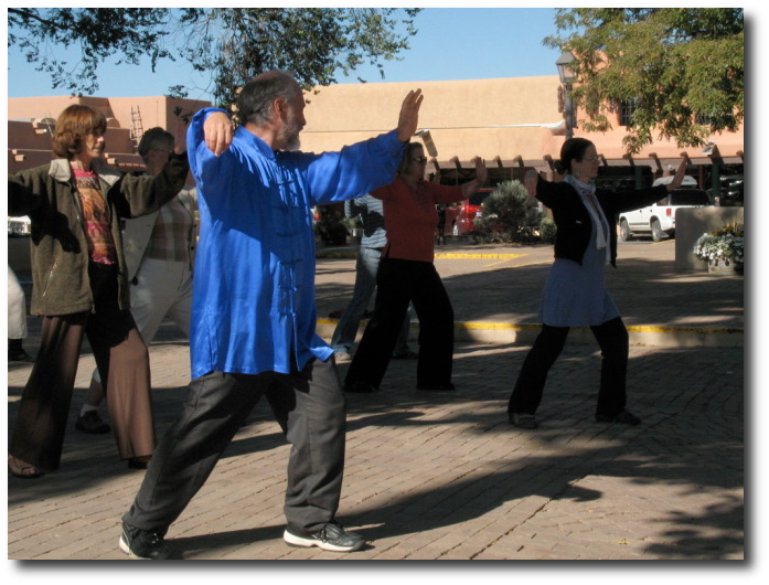 Tai Chi in the Plaza